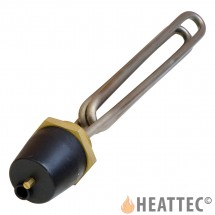 Immersion Heater Triple Loop U-Shaped