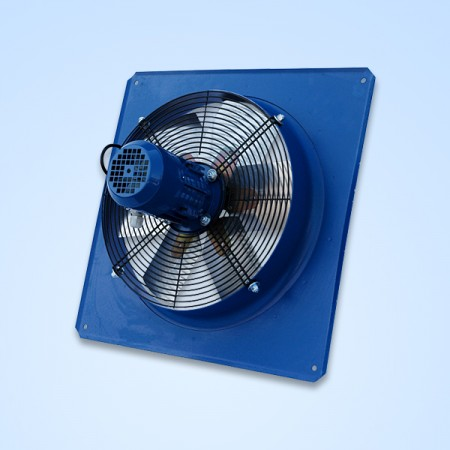 Sama Axial fan A6/N 450/4, 3100-5300 m³/h.